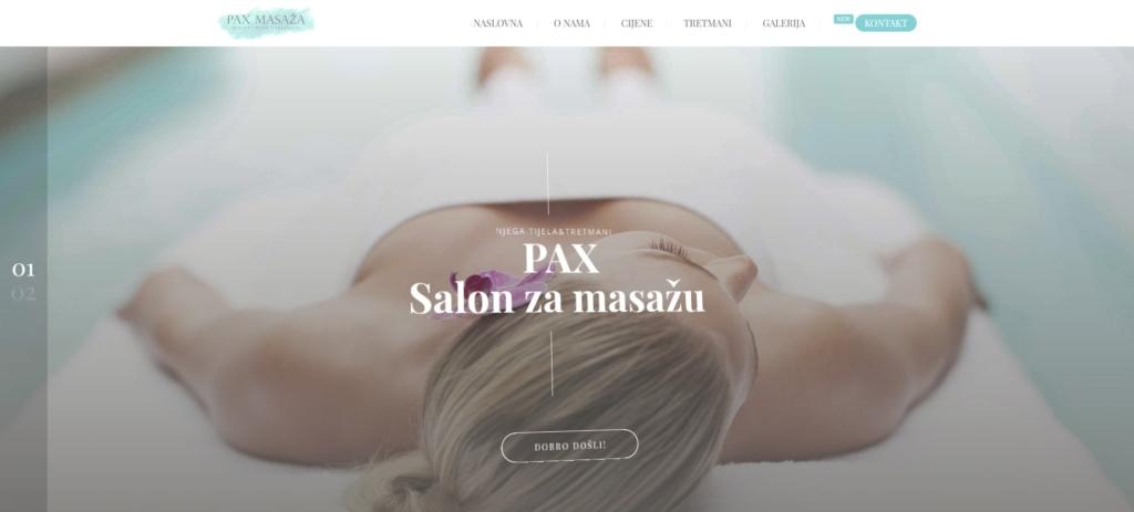 Salon za njegu tijela Pax